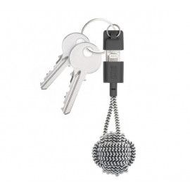 Native Union Kevlar Key Lightning kabel zebra