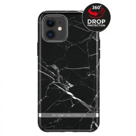 Richmond & Finch Freedom Series Apple iPhone 11 zwart marble / zilver