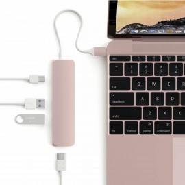 Satechi USB-C passthrough HDMI Hub Rosé gold