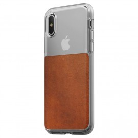 Nomad Clear Case iPhone X bruin