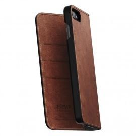 Nomad Leather Folio Case iPhone 7 / 8 Plus bruin
