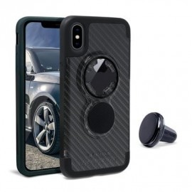 Rokform Crystal case iPhone X / XS carbon zwart