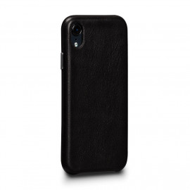 Sena Deen Leatherskin Snap On Case iPhone XR zwart