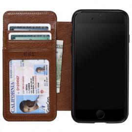 Sena Heritage Wallet case iPhone 8 / 7/ SE 2020 Cognac