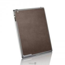 Spigen Skin Guard Leather iPad 2 bruin
