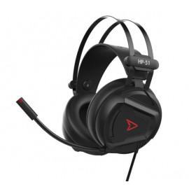 Steelplay Wired Headset 5.1 Virtual Sound HP51 zwart