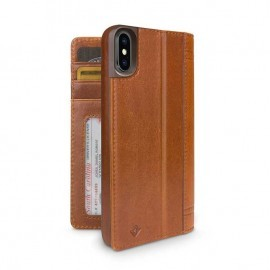 Twelve South Journal iPhone X Cognac