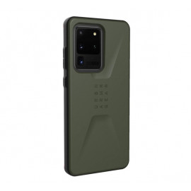 UAG Hard Case Civilian Galaxy S20 Ultra olijfgroen