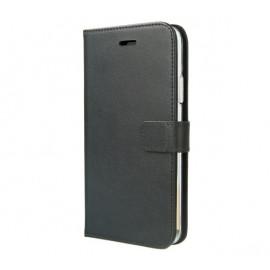 Valenta Booklet Leather Gel Skin iPhone 11 zwart