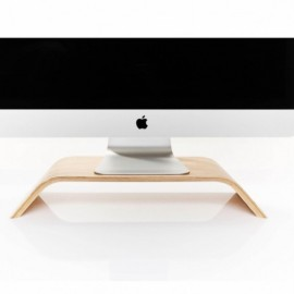 Woodcessories ecolift iMac stand bamboo