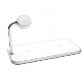 ZENS Aluminium Dual Wireless Charger + Watch 10W
