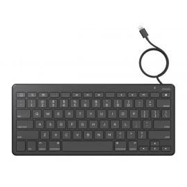 ZAGG Lightning Keyboard Wired UK zwart