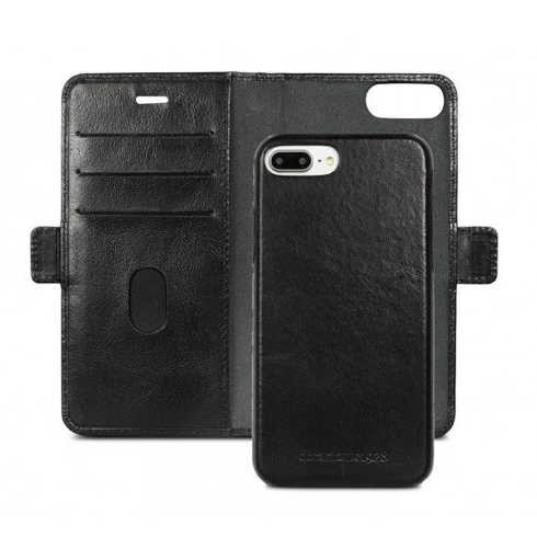 iPhone 6-6S-7-8 Plus dbramante1928 Lynge Wallet Leren Hoesje Zwart