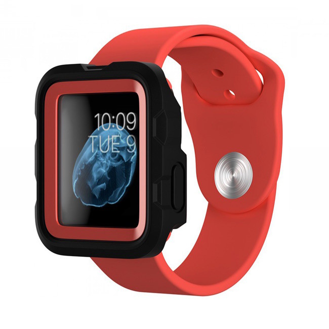 Griffin Survivor Apple Watch Case 38mm Rood