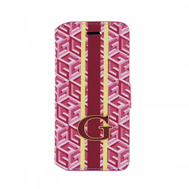Guess G-Cube- Book Cover Samsung Galaxy S6 Rood