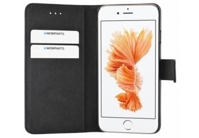 Mobiparts Premium Wallet TPU Case Black iPhone 7