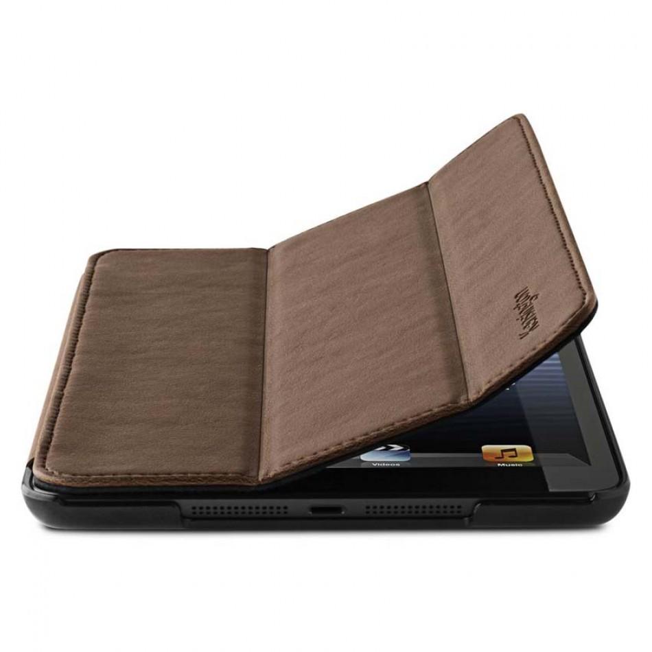 Kensington Leather Cover Ipad Mini Bruin