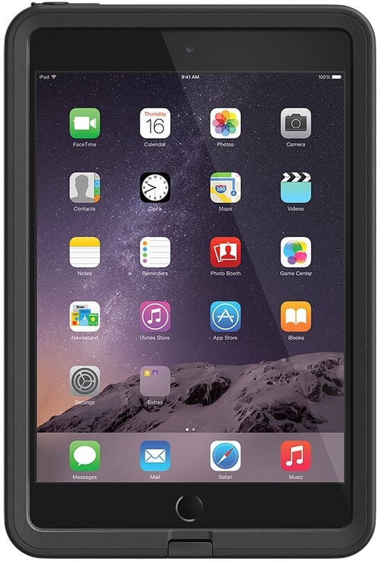 Lifeproof Fre Case Ipad Mini 1 / 2 / 3 Retina Zwart