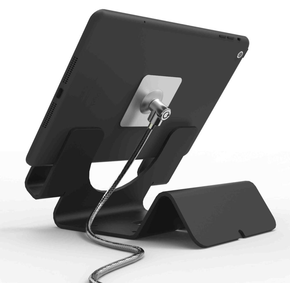 Maclocks Tablet Beveiligingsstand Met 1 8 Meter Kabel Zwart