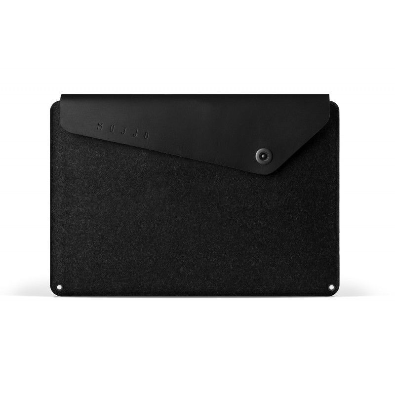 Mujjo Sleeve Zwart MacBook Pro 15