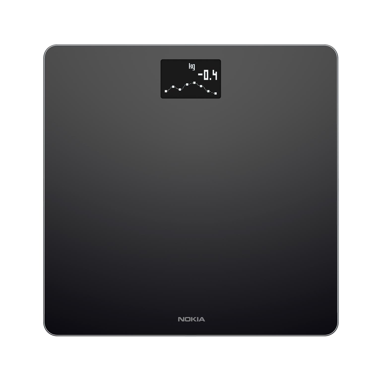 Nokia (Withings) Body weegschaal WS45 zwart voor €59,99