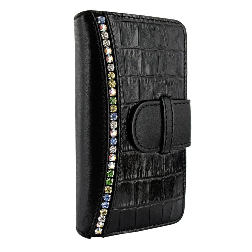 iPhone 5-5S-SE Piel Frama Swaro Wallet Leren Hoesje Zwart