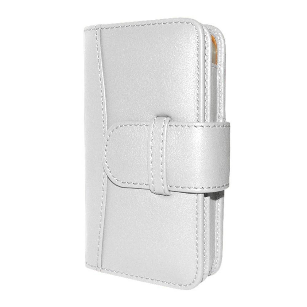 iPhone 5-5S-SE Piel Frama Portemonnee Leren Case Wit