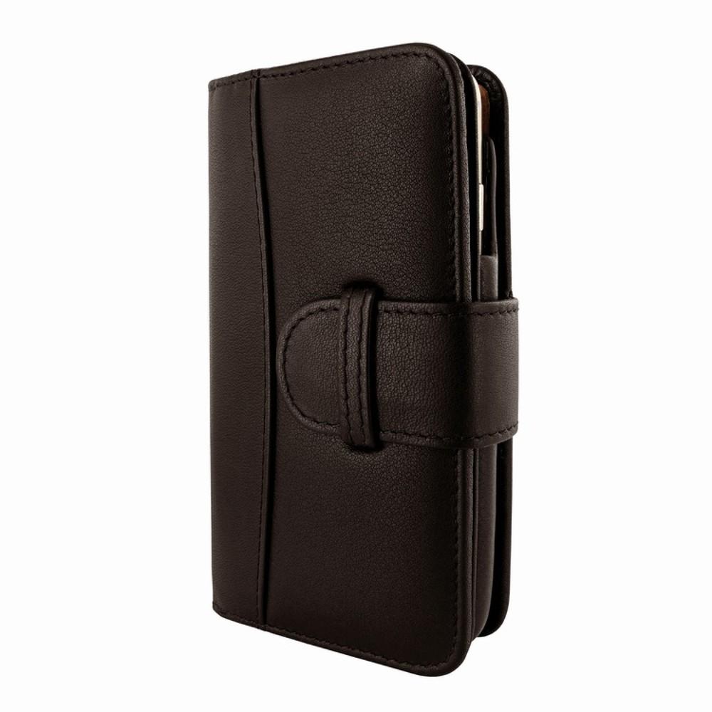 iPhone 6-6S Piel Frama Wallet Leren Hoesje Bruin