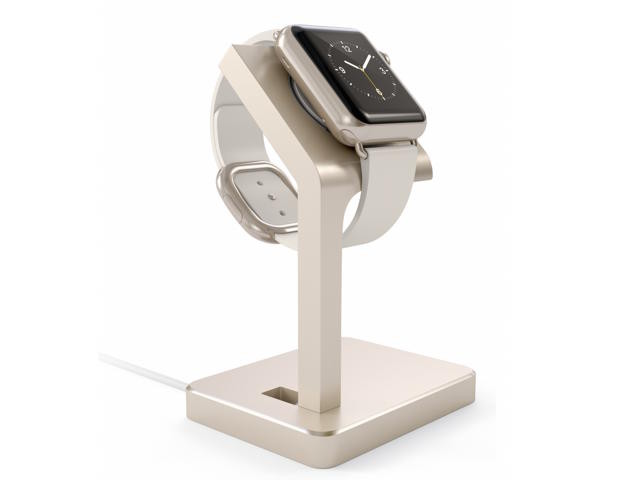 Satechi Aluminium Apple Watch Stand Gold
