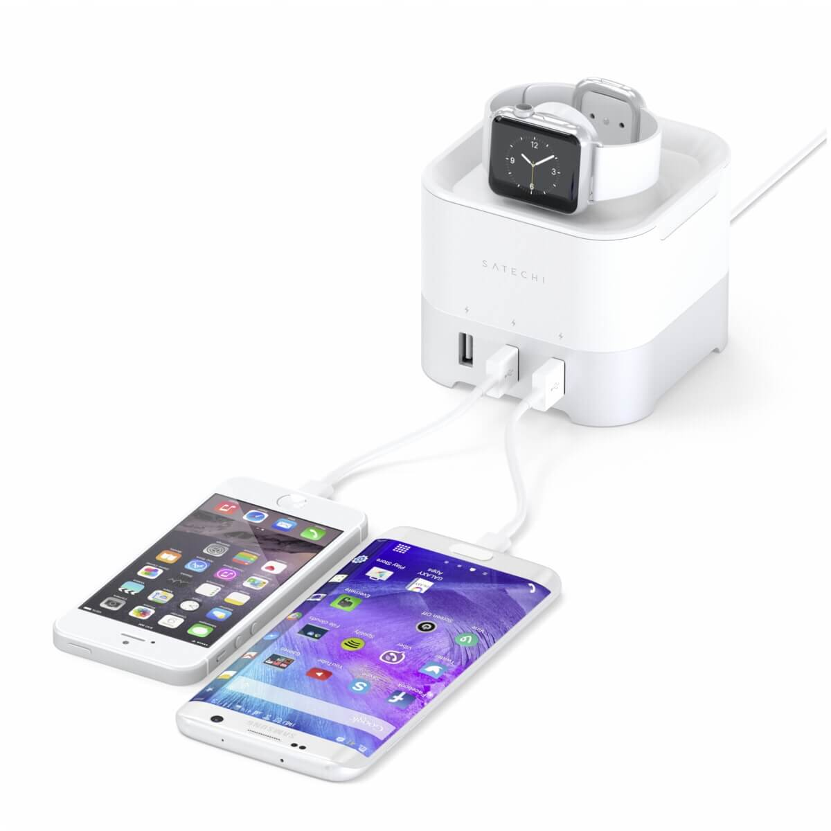 Satechi Smart Charging Stand Zilver