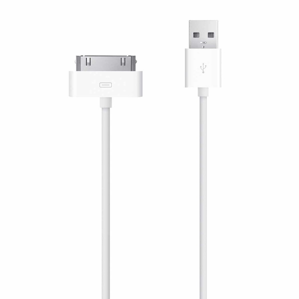 Mobiparts USB Cable for iPhone and iPad 3m White