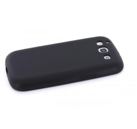 Mobiparts Siliconen Case Samsung Galaxy S3 (Neo) Black