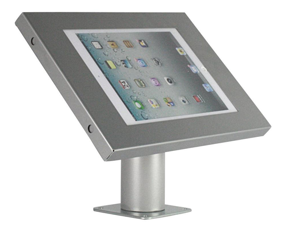 Ergo Tablet wall mount tubed model Silver for 9-11.1i tablets portrait-land (0682858601129)