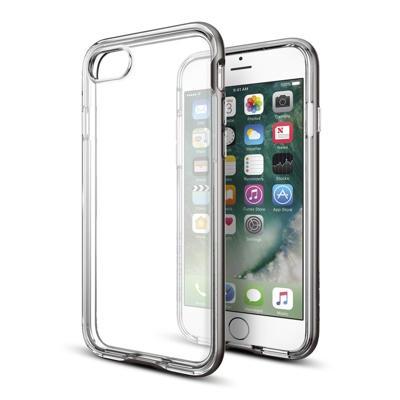 Spigen Neo Hybrid Crystal Apple iPhone 7 Case 042CS20676 Satin Silver voor iPhone 7