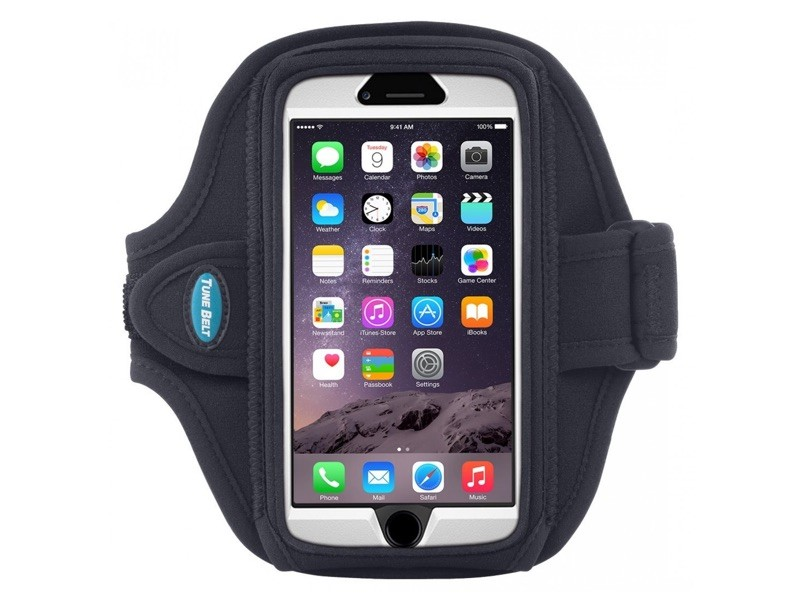 Tune Belt Sport armband AB92 iPhone 6(S) Plus zwart