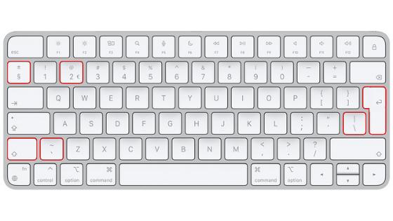 qwerty NL keyboard
