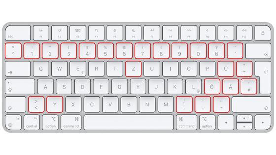 qwertz keyboard