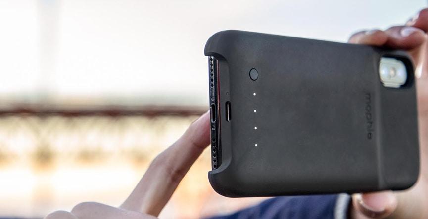 Mophie Coque avec Batterie