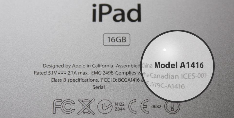 Welche iPad habe ich?