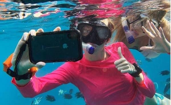 coque iphone xs sous l eau